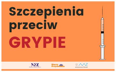 Szczepienia przeciw grypie w sezonie 2021/2022